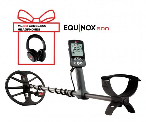Metalo Detektoriai Minelab Equinox 600 + Minelab Equinox Wireless Headphones