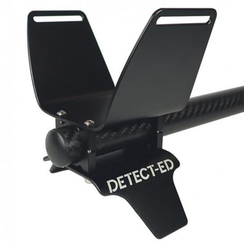 Porankio  Equinox Alloy Armrest kit, 22 mm, juoda
