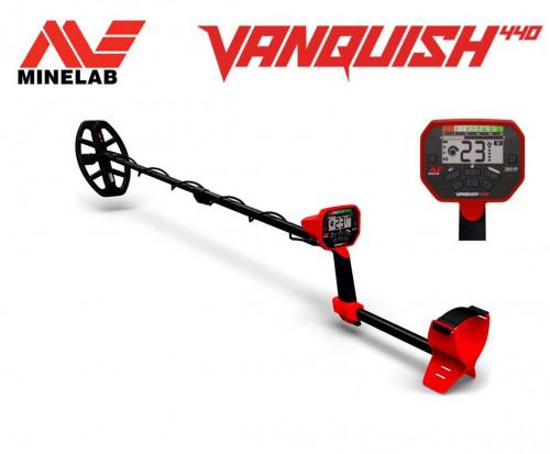Metalo detektorius Minelab Vanquish 440