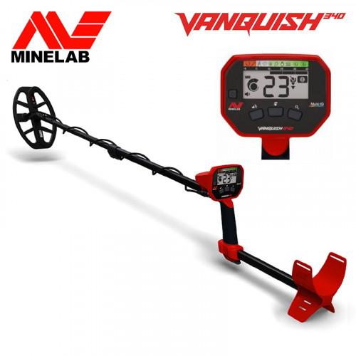 Metalo detektorius Minelab Vanquish 340